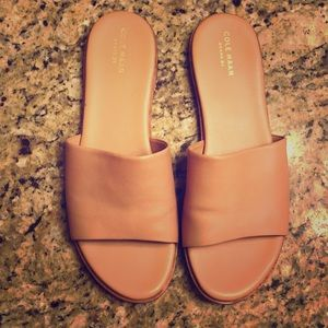 Cole Haan Grand OS Nude Slides Women's size 9.5